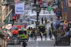 Dader van aanslag in Stockholm aangevallen door medegevangene