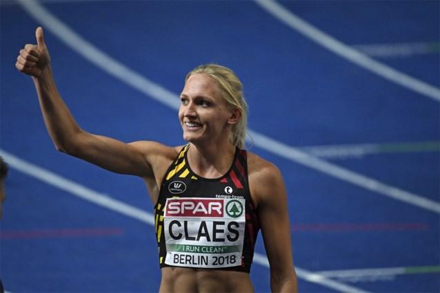 EK atletiek. Hanne Claes verrast met vierde plaats op 400m horden, Debjani achtste op 1.500 meter
