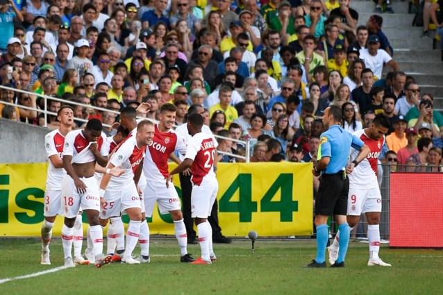Tielemans en Monaco starten seizoen met 1-3 zege in Nantes