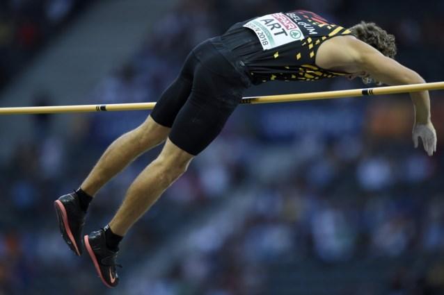 Arnaud Art blijft met negende stek net onder de verwachtingen in finale polsstokspringen