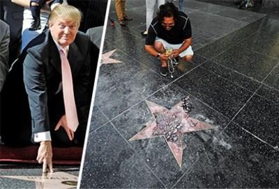 De donkere kant van de sterren op de wereldberoemde Walk of Fame