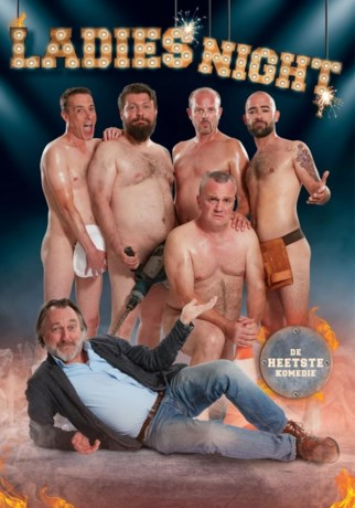 James Cooke laat BV's strippen in 'Ladies Night'