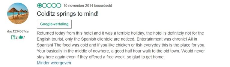 """Britse grootmoeder vond Benidorm maar niks: """"Waarom gaan Spanjaarden niet ergens anders op vakantie?"""""""