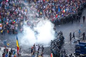 Betogers protesteren tegen Roemeense regering voor derde dag op rij