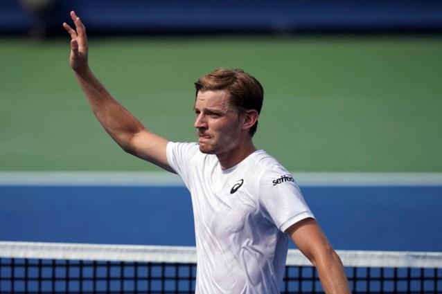 David Goffin in drie sets naar achtste finales op ATP-toernooi Cincinnati