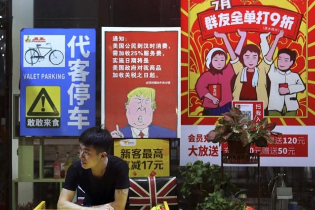 """""""Onderhandelaars plannen einde aan handelsoorlog tussen VS en China"""""""