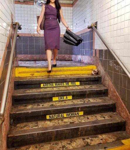 New York eert Aretha Franklin in gelijknamig metrostation