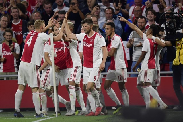 Ajax zet grote stap richting Champions League