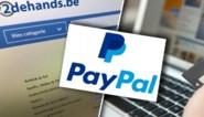 2dehands.be waarschuwt voor fraude met valse accounts van Paypal