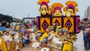FOTO VAN DE WEEK. Bloemenzee van gladiatoren marcheren over Zeedijk