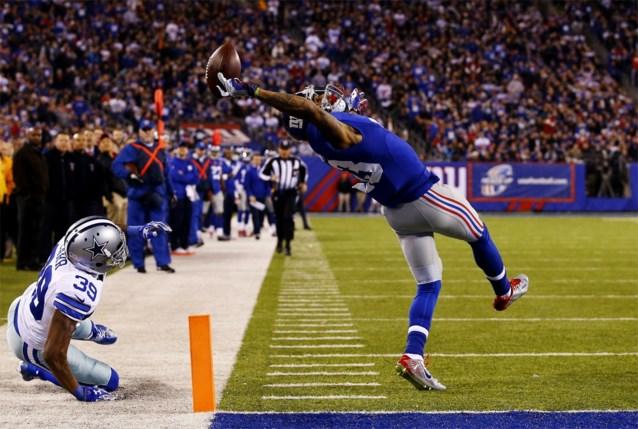 American Football-vedette Odell Beckham Jr. ondertekent miljoenencontract bij Giants