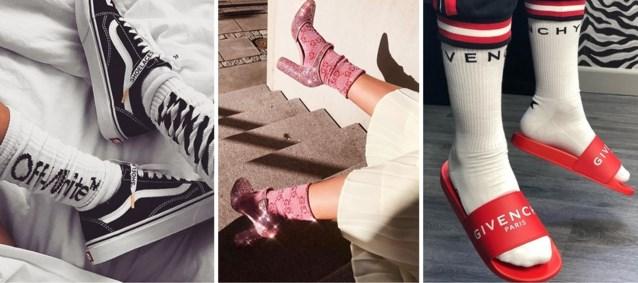 """Sokken van designers zijn hipper dan ooit: """"Je hebt al een Versace vanaf 60 euro"""""""