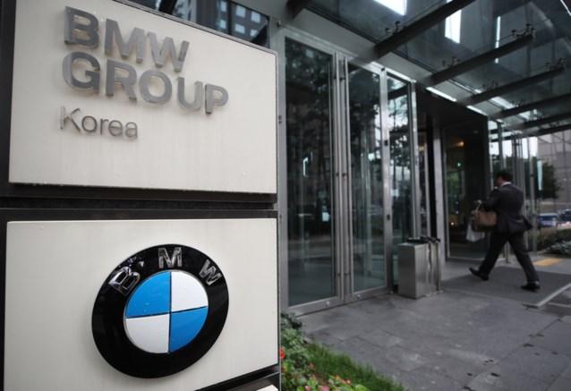 Huiszoeking bij BMW in Seoel na autobranden