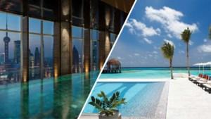 Voor wie de vakantie nu al mist: dit zijn de mooiste hotelzwembaden ter wereld