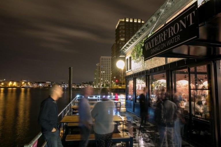 Seppe Nobels opent drijvend restaurant in Antwerpen