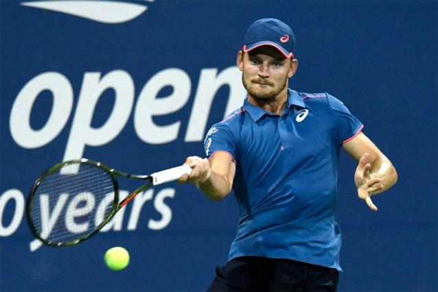 David Goffin gaat vlot door naar achtste finales US Open en neemt het daarin op tegen voormalig eindwinnaar