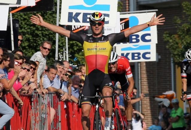 Yves Lampaert wint in Bavikhove, Stuyven wordt nog maar eens tweede
