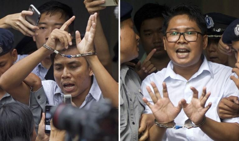 Journalisten die in Myanmar onderzoek deden naar geweld tegen Rohingya moeten 7 jaar naar de cel