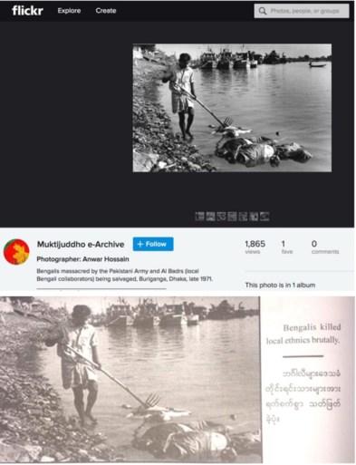 Verkrachtingen, geweld en moorden, maar leger vervalst foto's en herschrijft geschiedenis in poging om genocide te rechtvaardigen