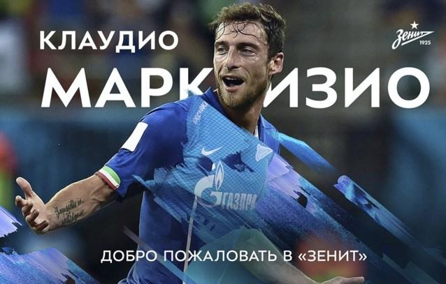 Zenit haalt Claudio Marchisio binnen als nieuwe nummer 10