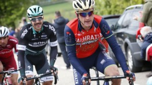 Enrico Gasparotto ruilt Bahrain Merida voor Dimension Data