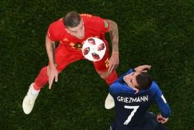 """Griezmann over halve finale tegen België: """"We waren een irritante ploeg"""""""