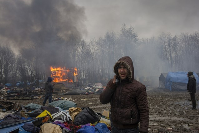 Franse autoriteiten ontruimen kamp nabij Duinkerke