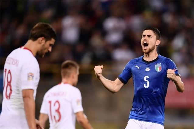 NATIONS LEAGUE. Italië vermijdt pijnlijke thuisnederlaag, voormalige Anderlecht-spelers schitteren niet