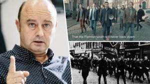 """""""De zwarte rafelige rand van het Vlaams-nationalisme"""""""