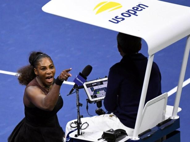 Serena Williams krijgt flinke boete na scheldtirade op US Open