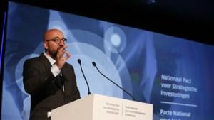 """Premier Michel wil van België """"nieuw Eldorado"""" maken: 150 miljard euro investeringen"""