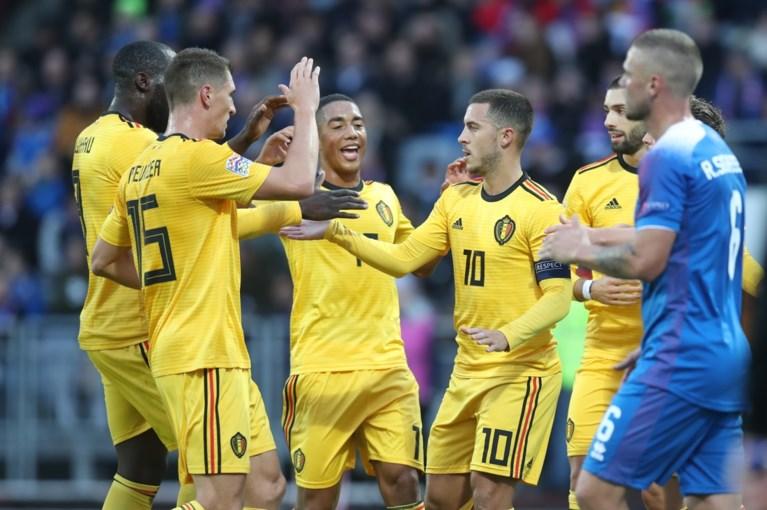Rode Duivels starten Nations League met simpele zege op veld van IJsland en zijn nieuwe nummer één