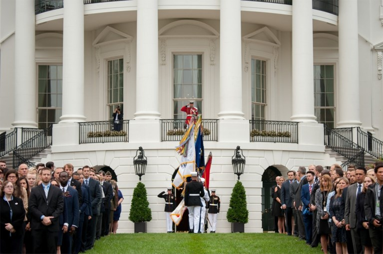 """""""Waarom lieg jij over alles?"""": president Trump veroorzaakt ophef met foto 9/11"""
