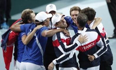 Frankrijk wint ook dubbelspel en plaatst zich voor tweede Davis Cup-finale op rij