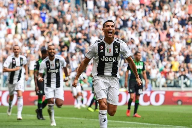 Cristiano Ronaldo is los: Portugees scoort ineens twee keer voor Juventus