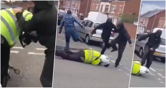 """Parkeerwachter (21) uit het niets zwaar mishandeld door groep jongeren: """"Ik mag van geluk spreken dat ik nog leef"""""""