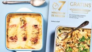 Met dit kookboek heb je maar zeven minuten nodig om gratins op tafel te toveren: wij deden de test