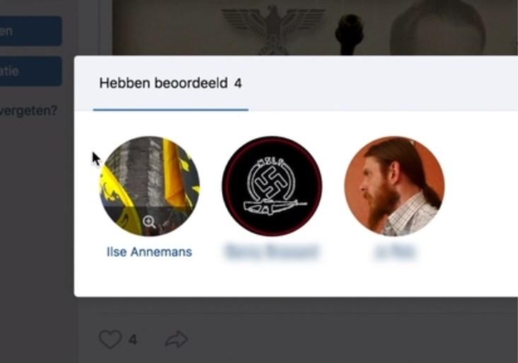 Voorzitter Vlaams Belang Dendermonde zet stap opzij nadat blijkt dat ze Hitler leuk vindt op sociaal netwerk