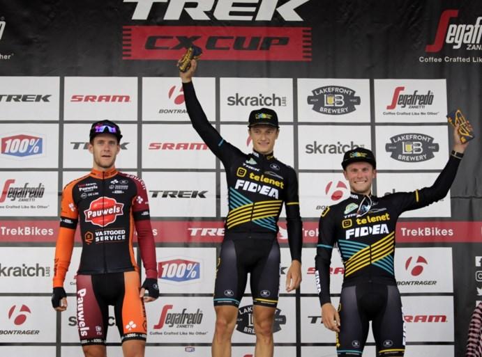 Quinten Hermans wint Trek CX Cup in Waterloo