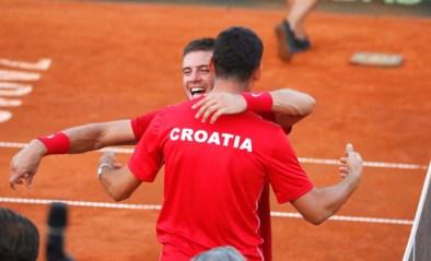Finale Davis Cup tussen Frankrijk en Kroatië in Rijsel op gravel