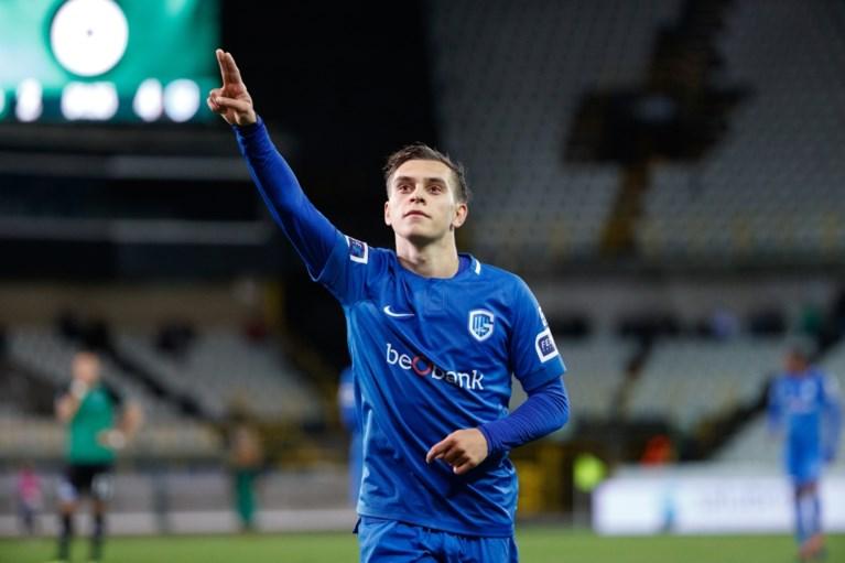 Magistrale Leandro Trossard houdt Racing Genk in spoor Club Brugge