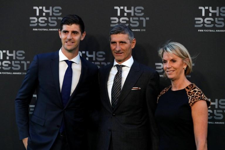 Hazard, Courtois en Jean-Marie Pfaff schitteren op rode loper FIFA-gala