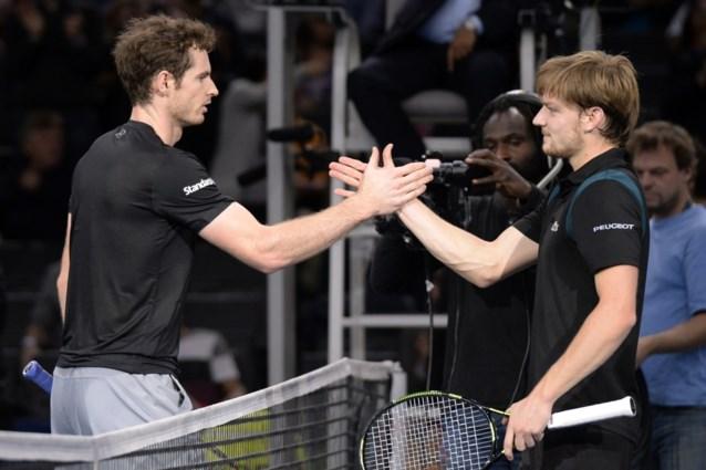 Goffin maakt zich op voor confrontatie met Andy Murray