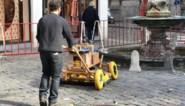 Geen Rechtvaardige Rechters gevonden na scan van ondergrond Gents plein