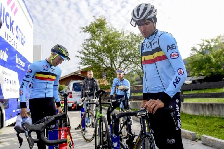 """Belgische wegrenners werken tijdens tijdrit """"rustige duurrit"""" af aan gemiddelde van 31,7 km/u"""