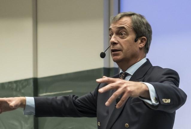 """Nigel Farage: """"Van Rompuy zou me moeten betalen"""""""