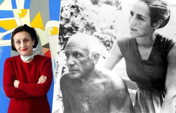 """Op haar 96ste treedt de muze van Picasso eindelijk uit schaduw van haar tirannieke ex: """"Hij wilde eigenlijk dat ik permanent zwanger was. Dan was ik op mijn zwakst"""""""