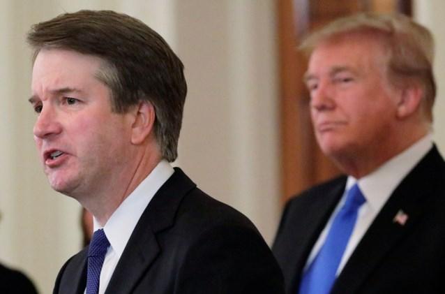 Trump plooit: dan toch FBI-onderzoek naar aanranding door kandidaat-rechter Kavanaugh