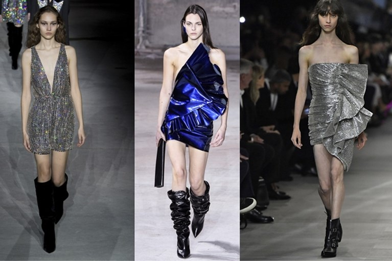 Hedi Slimane stelt modewereld zwaar teleur met zijn debuut voor Celine