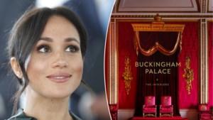 ROYALS. Zo zag je Buckingham Palace nog nooit en deze verrassing staat prins Harry en Meghan Markle te wachten